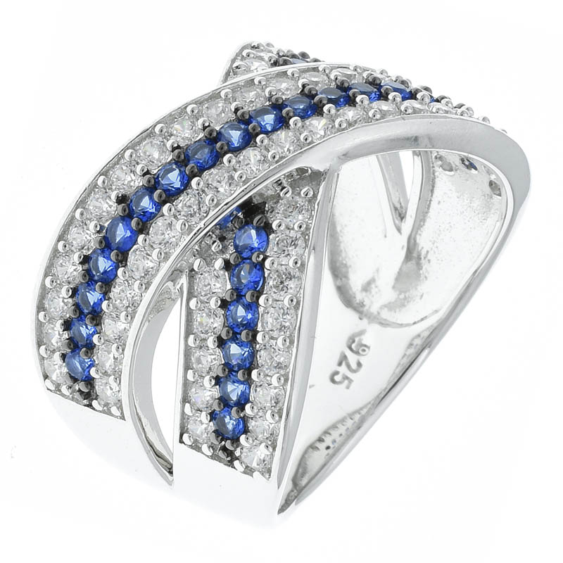 Women Criss Cross Jewelry Ring
